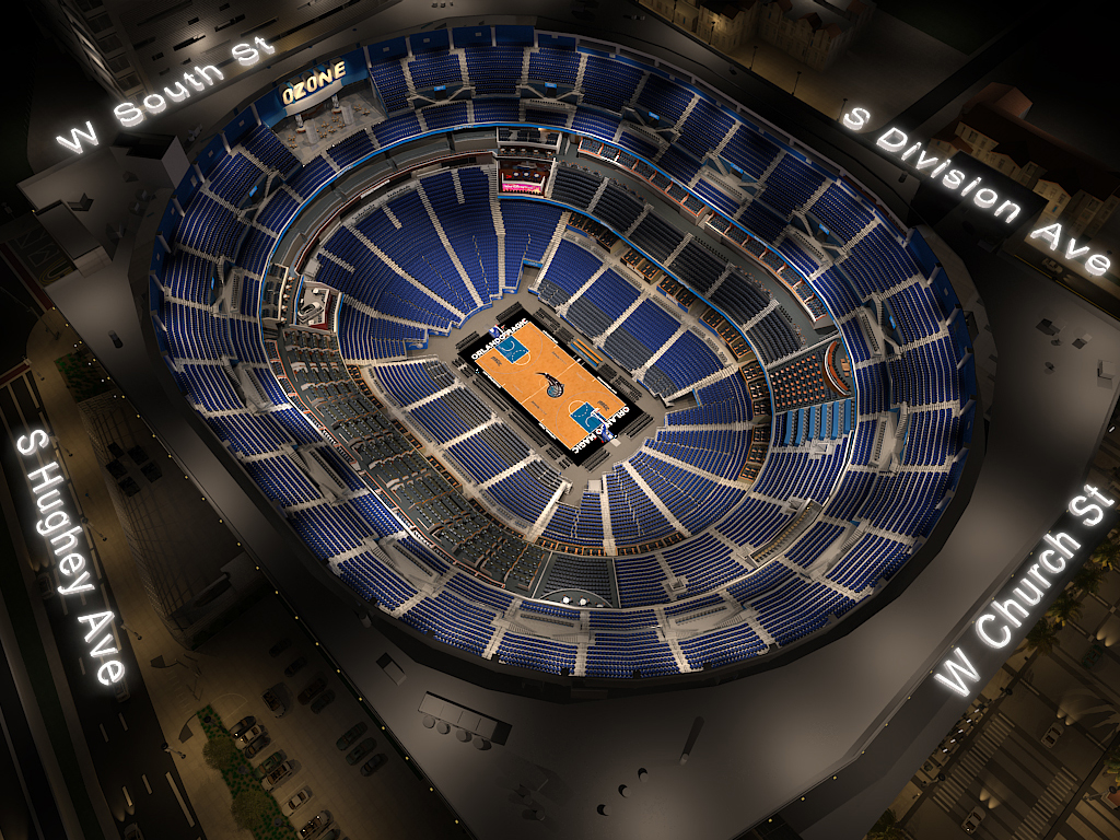 Amway Center Seating Chart 3d Seating Chart At Amway