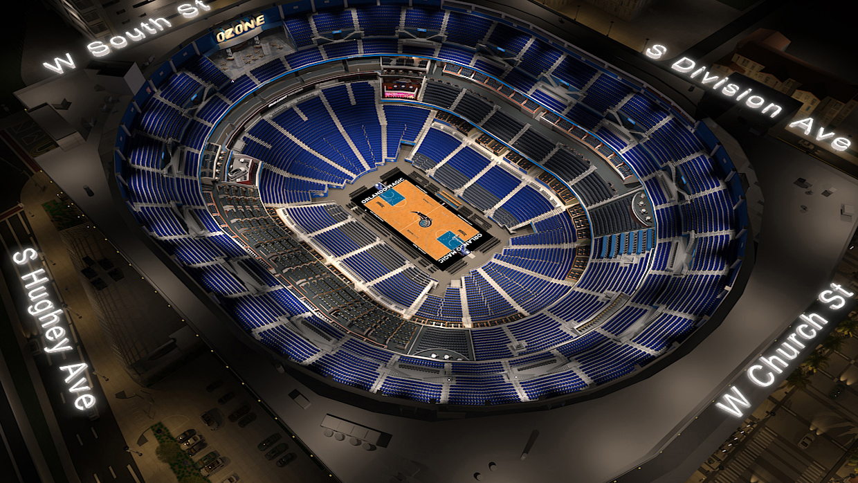 Orlando Magic Virtual Venue By Iomedia